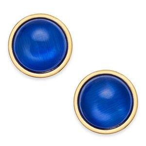 Kate Spade Royal Blue Stud Earrings- NWT